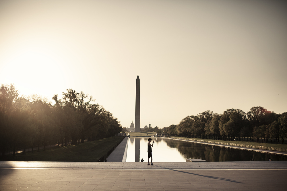 washington monument photography EF education first