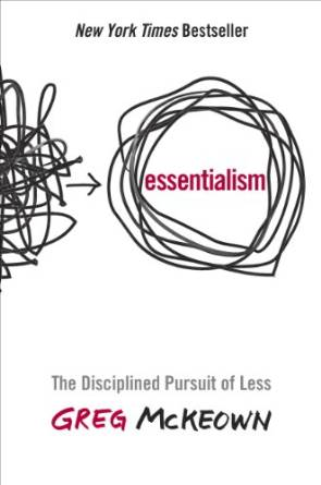 Essentialism book cover by Greg McKeown