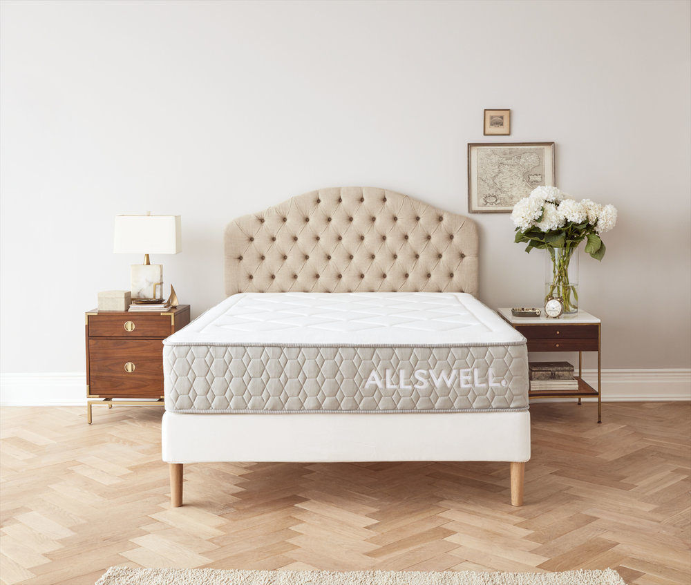 Allswell mattress walmart new bedding home brand design agency