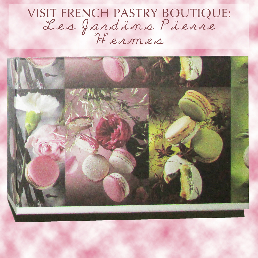 This summer collection is inspired by French pastries, namely the absolutely delicious macaron!  I got this box of macarons a few years ago from my sister, who studied in Europe and spent a bit of time in Paris.  The collection of macarons was called Les Jardins.  If you look at the website, the packaging is now different - more modern - but I love the old world feel of the box that my sister gave me because it looks more authentic and timeless.  Pierre Hermes is the maker of these macarons. Really, this is more like the designer, given the immaculate flavor of these delicious bite sized desserts.  Pierre Hermes blends together unique combinations in the name of an artisanal luxurious eating experience.  Some of the flavors include Mushroom and Lemon, Vanilla and Basil, Chocolate and Lime, Rose and Ginger, Lime Raspberry Espelette Pepper, and Rose Vanilla and Cloves.   Although it was a few years ago, I can remember vividly that my favorite flavor was the Lime Raspberry and Esseltete Pepper macaron.  The Raspberry made for a very fruity flavor and the lime gave the macaron a fresh and bright flavor that gave the macaron a spring zesty note.  Then the pepper was the superstar of this dessert.  Surprisingly, the pepper did not make the macaron spicy.  Instead, it gave the macaron warmth and had the effect of adding salt to a sweet food - it opened up the raspberry flavor and gave the macaron a more floral flavor.  It was outstanding and the flavor is complex, yet simple enough so that it is hard to describe.   Pierre Hermes also has poundcake, waffles and many other desserts - most of which can be shipped, although products like ice-cream you can order online and pick up.  They are located in France, on rue de Bonaparte street to be exact.  If you're ever in the area, if you want to order from them (for a pretty penny), or if you're a master baker and need some new ideas of innovative desserts to make, I would definitely visit their site.  For more on Pierre Hermes, visit: http://www.pierreherme.com.