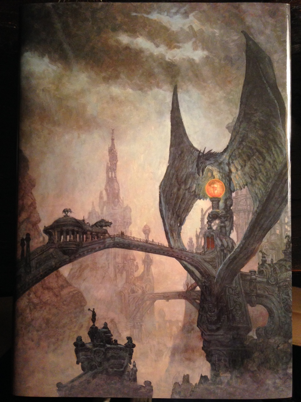 Dust jacket from Harlan Ellison's  Deathbird Stories