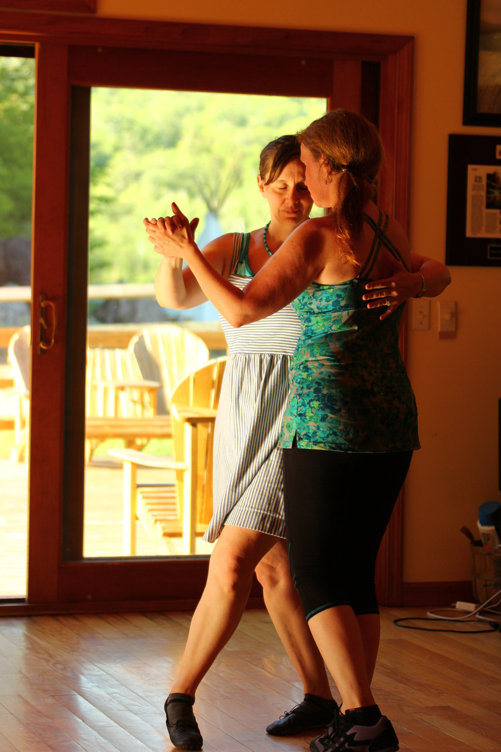 Vermont Tango & Yoga Retreat 2016, Photo by Sally Wright