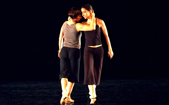 Sharna and Angelika, TangoMujer 2005. Photo by Astrid Weiske