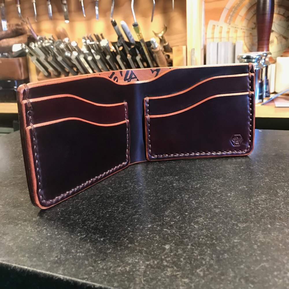 186e408b788 Bumble Bee - Bifold Wallet with Full-Sized Cash Pocket — ZeeBee Leather
