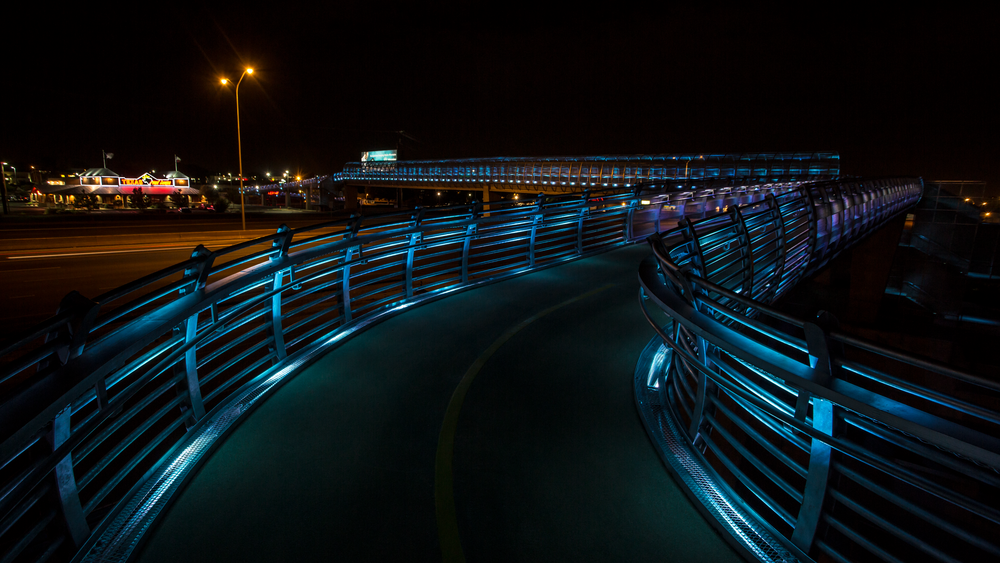 I25 - Bear Canyon Pedestrian Bridge Lighting