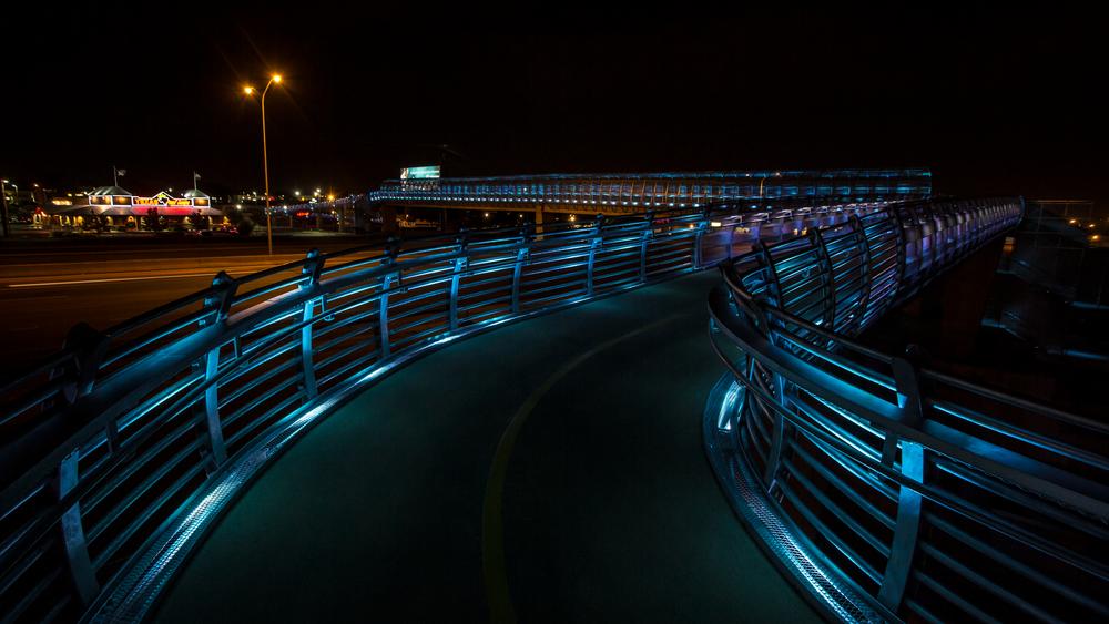 I25 - Bear Canyon Pedestrian Bridge Lighting