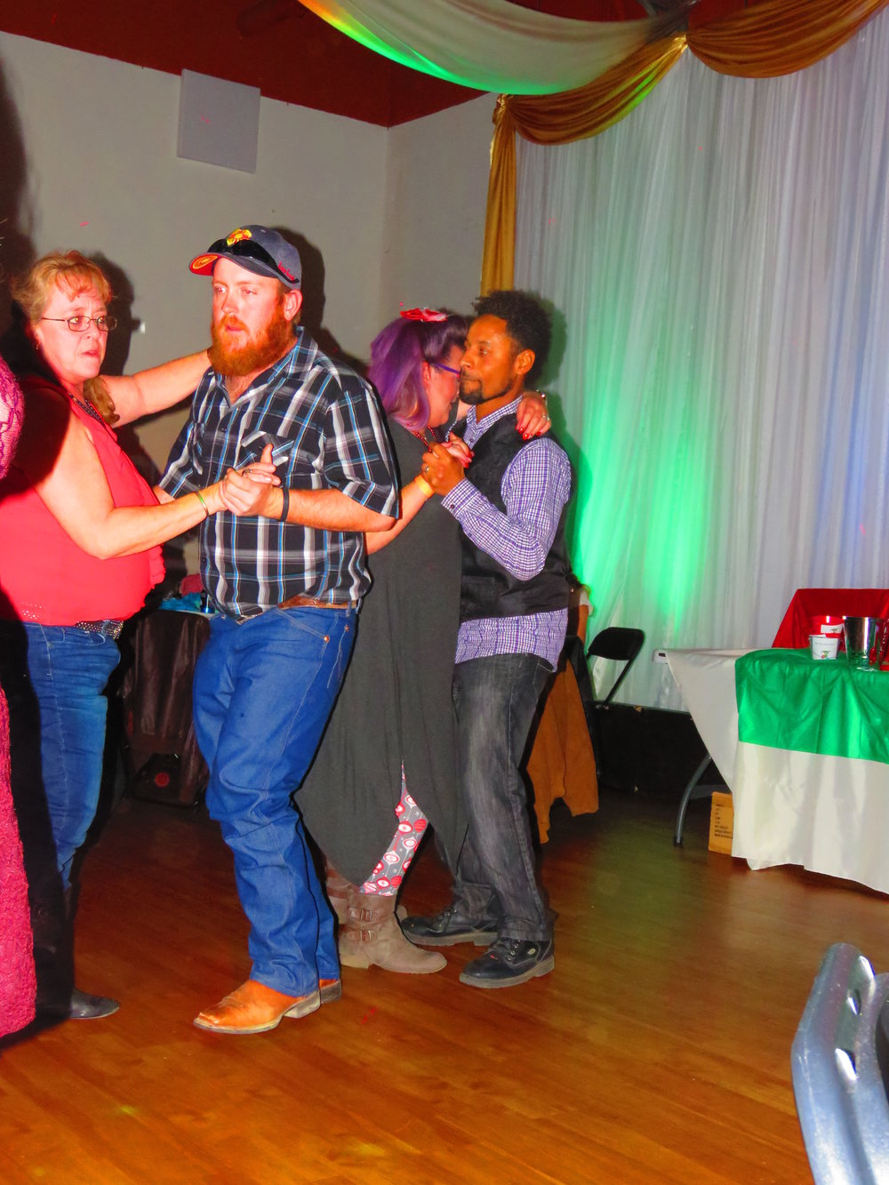 EZRA, MOM, STACEY & BRIAN DANCING.JPG