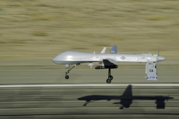MQ-1 Predator in flight (DoD photo)