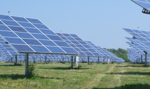 The AllEarthRenewables South Burlington Solar Farm in Vermont.