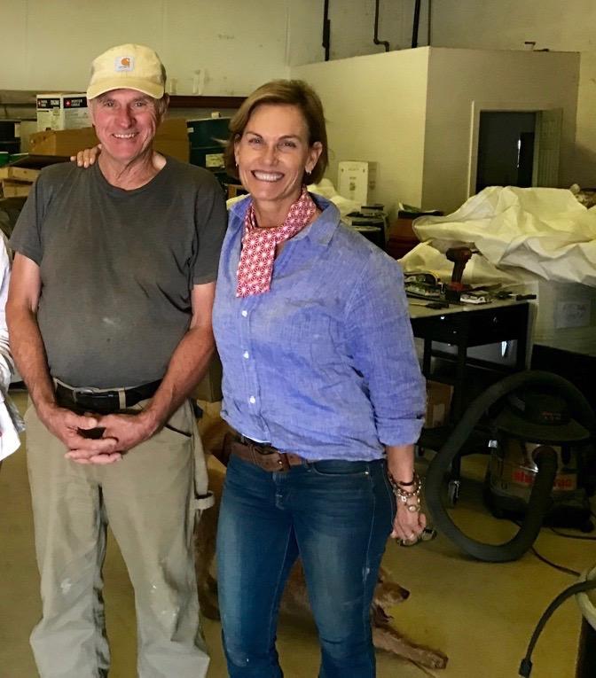honoré's miller, doug mosel of the mendecino grain project, ukaih, california