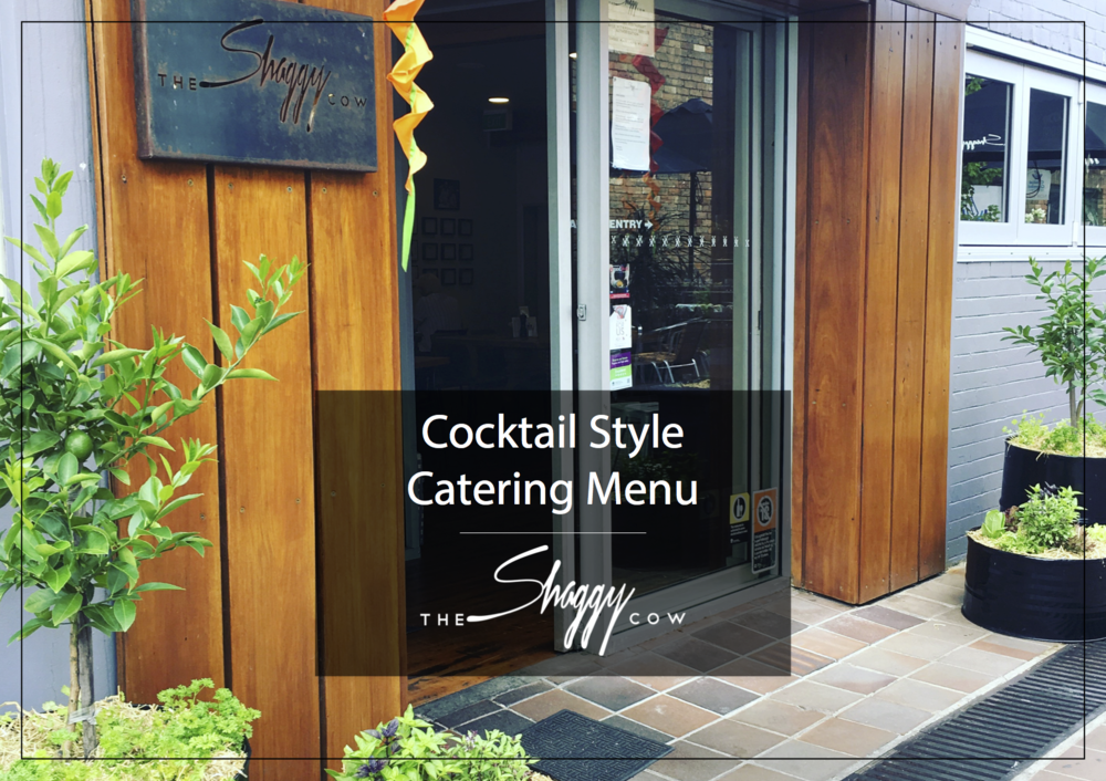 Click on the image to download the Cocktail Style Catering Menu
