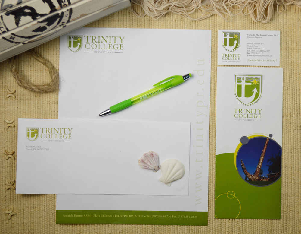 Brand Identity for Trinity College of Puerto Rico located in Ponce, Puerto Rico