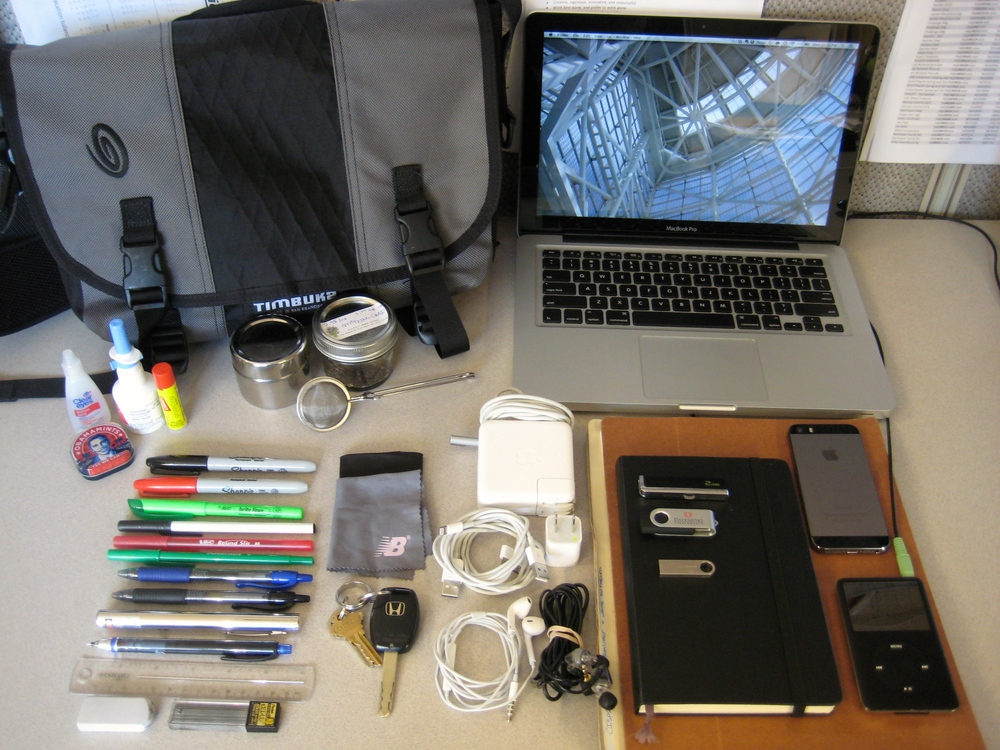 What's In Your Bag, Jared Duquette?