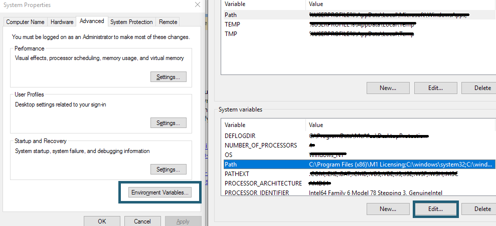 """Type """"Advanced System Settings"""" into the Windows Search Box."""