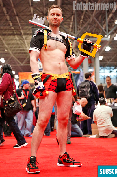 My ridiculous Sora costume made into Entertainment Weekly's photo montage of the event.