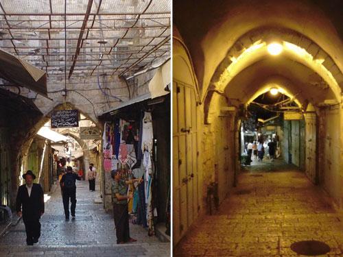 Old City Jerusalem: Day and Night