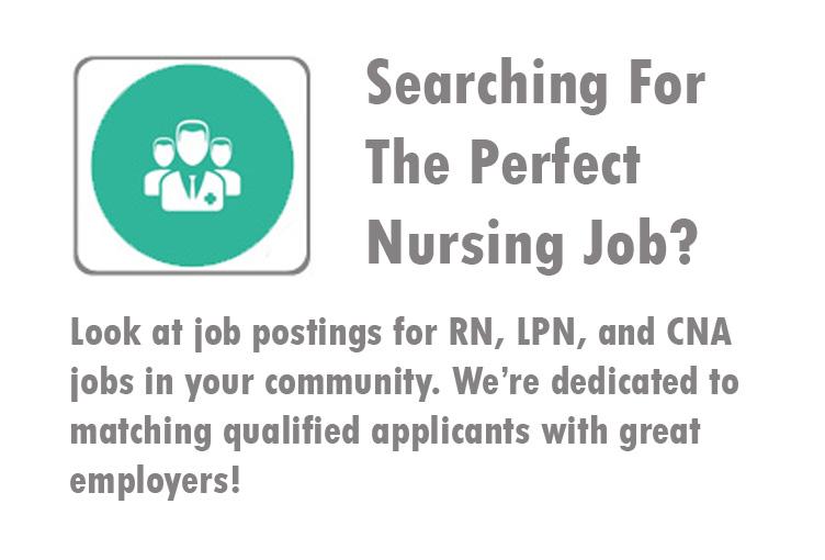 Nursing Jobs for RN, LPN, and CNA