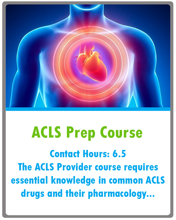 ACLS Prep Course Continuing Education