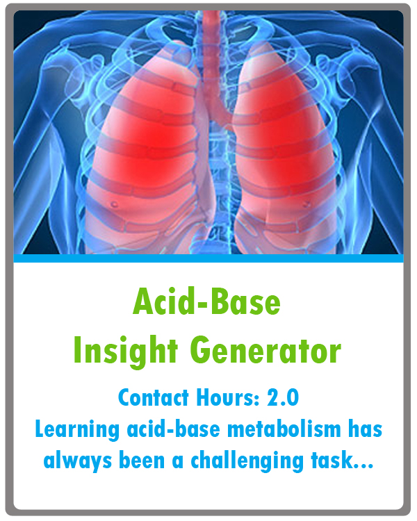Acid Base Imbalance Continuing Education