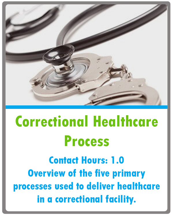 Correctional Nursing Continuing Education