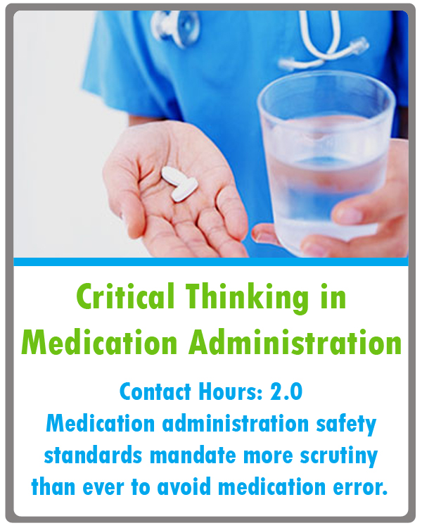 Medication Administration Continuing Education