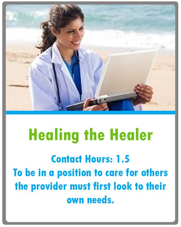 Healthcare Provider Mental Health Continuing Education
