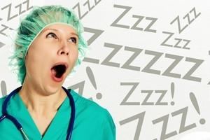 Sleeping Nurse
