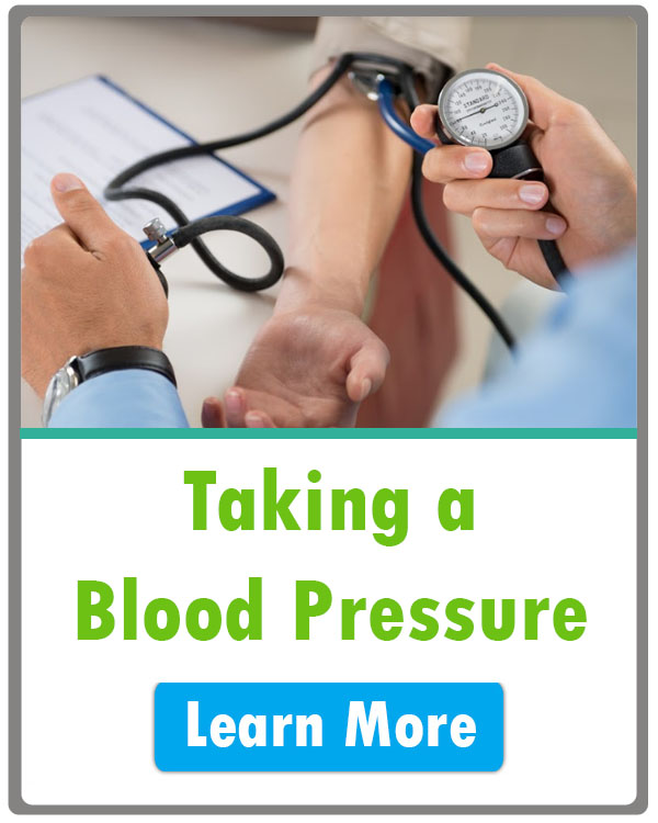 how to take a blood pressure
