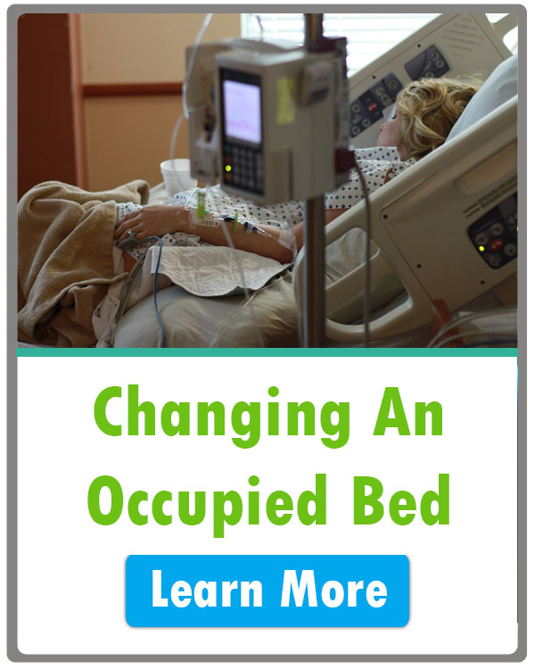 Changing an Occupied Hospital Bed