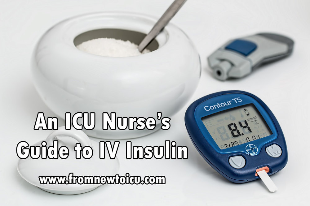 IV insulin guide for nurses