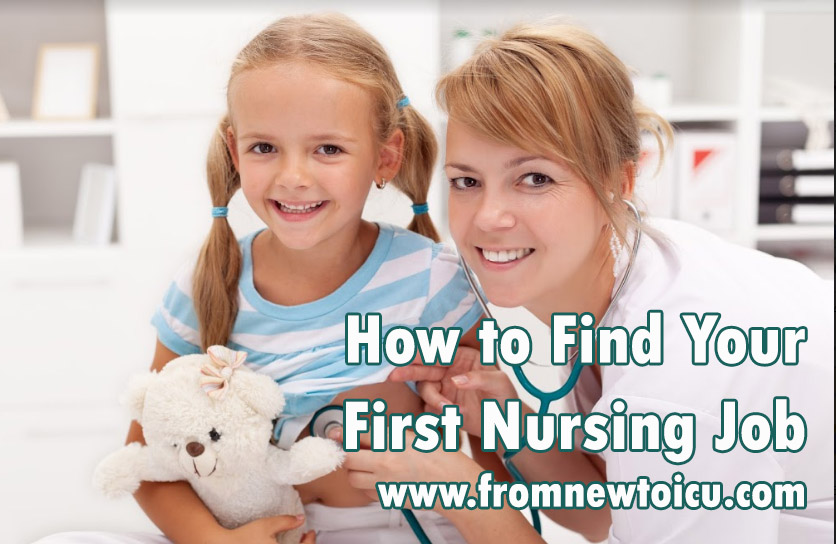 first nursing job
