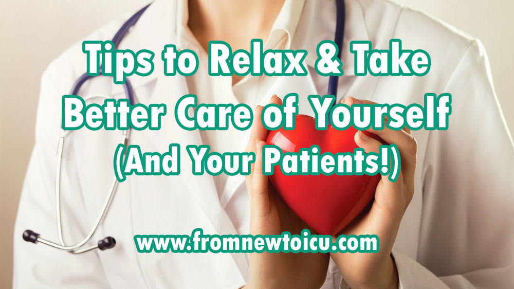 stress relief for nurses