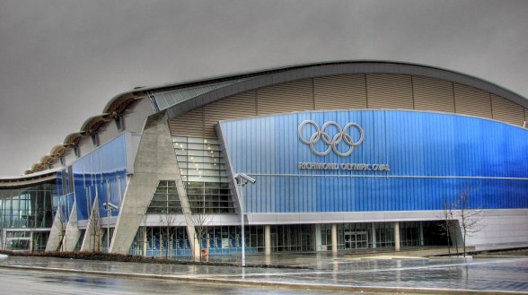 Although the Richmond Olympic Oval is expected to face millions of hydrometeor impacts next week, structural damage is not anticipated.  Source .