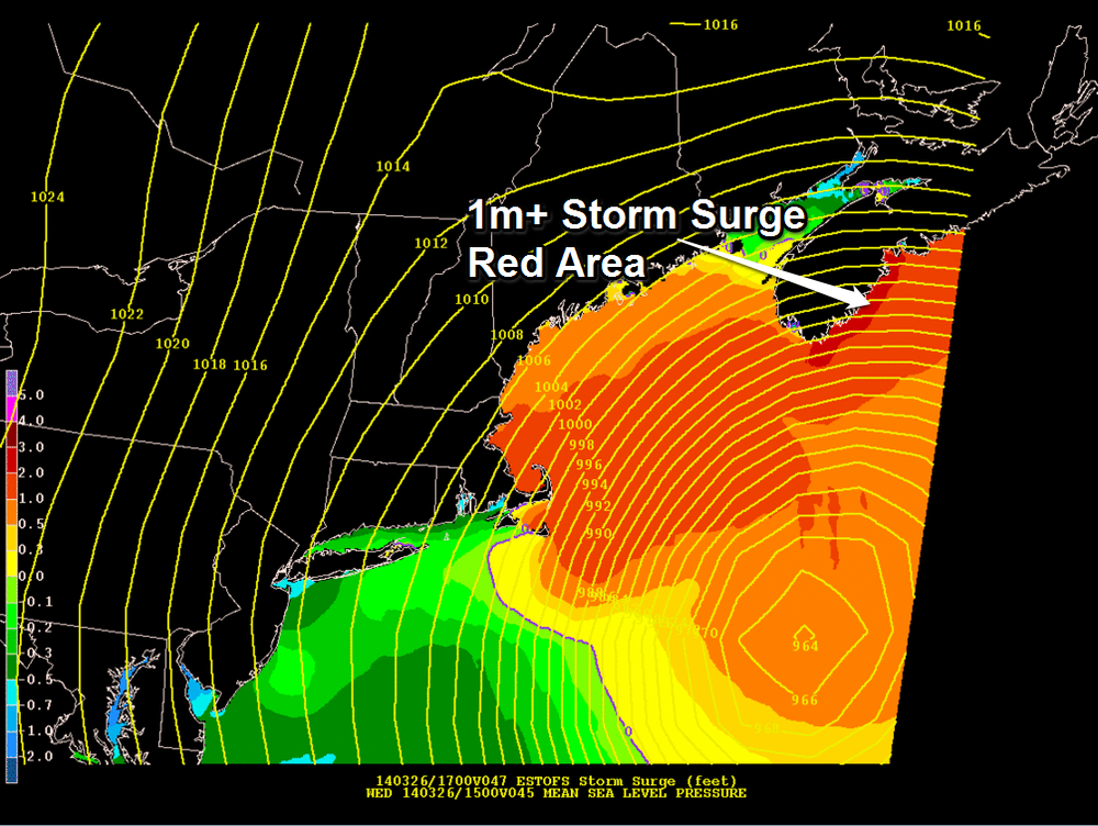 ESTOPS latest storm Surge Model (By NOAA)