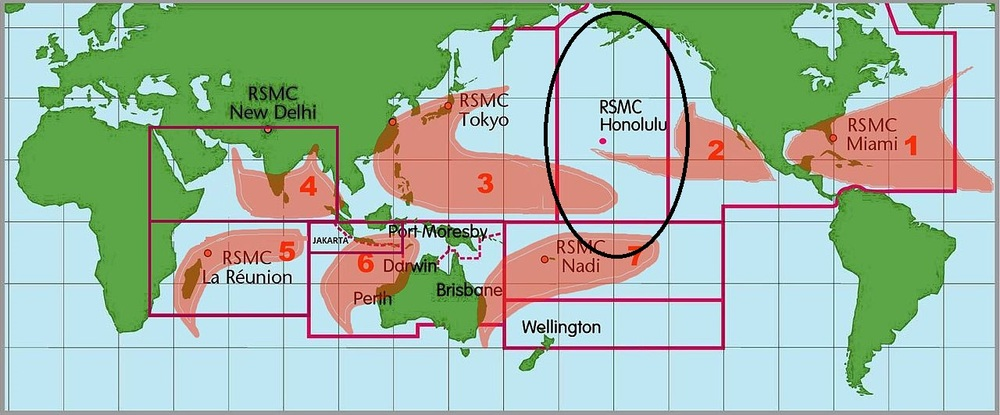 Figure 1: Where exactly is the Central Pacific Basin?