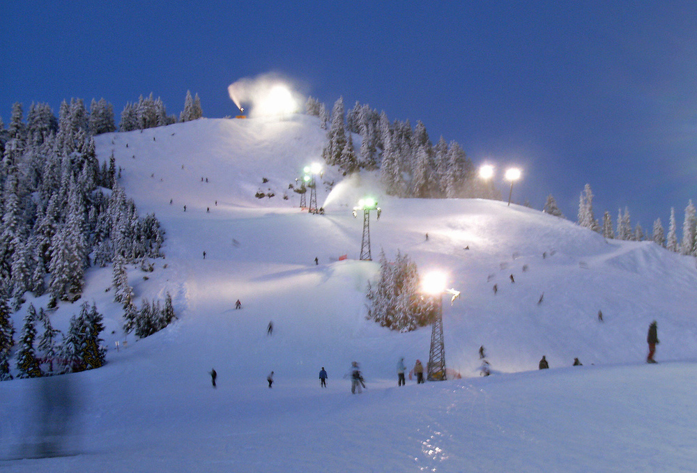 The only place you'll find snow is on one of our beautiful local ski hills