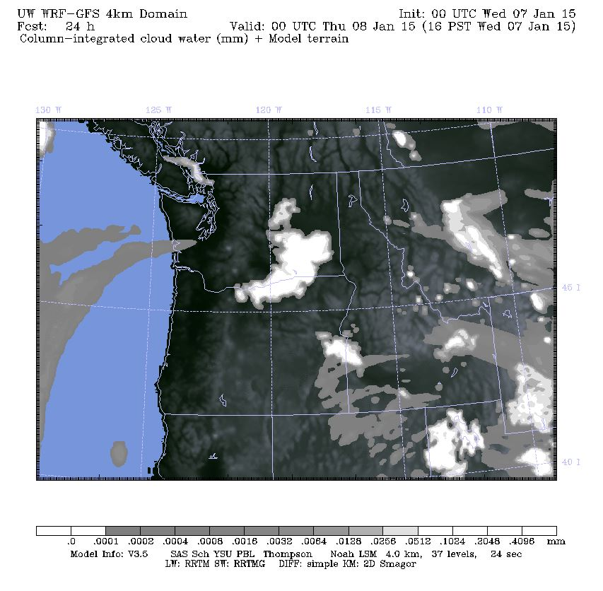 High resolution GFS doing a little better of a job but is still likely missing fog for Northern Georgia Strait and Puget Sound