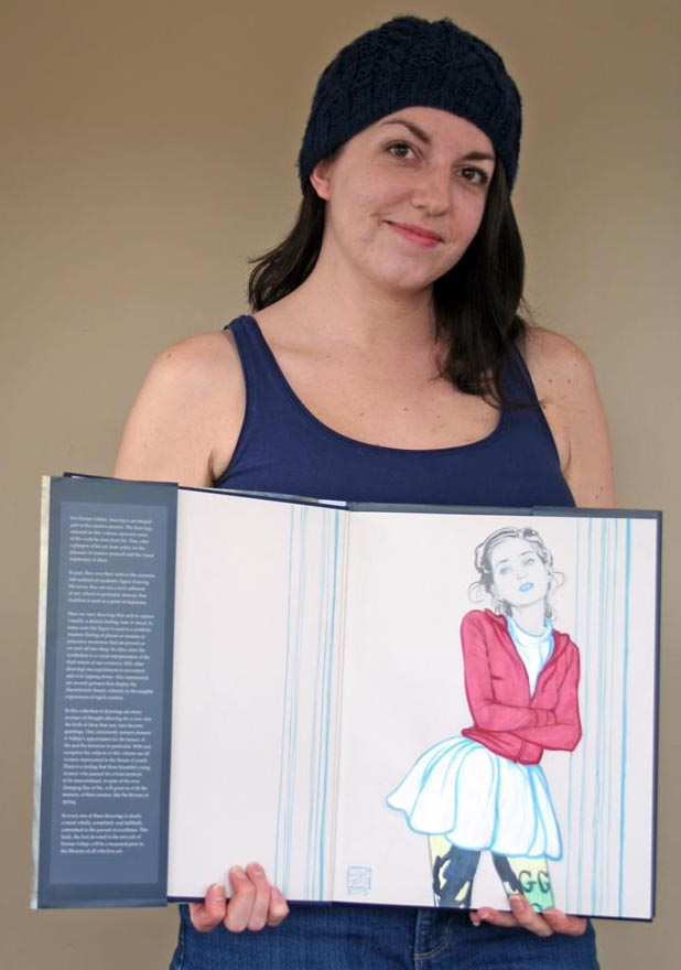 Blog post about experience and reaction to her collector's edition.   http://jodyvanb.blogspot.ca/2015/03/a-birthday-gift-to-myself-drawings.html