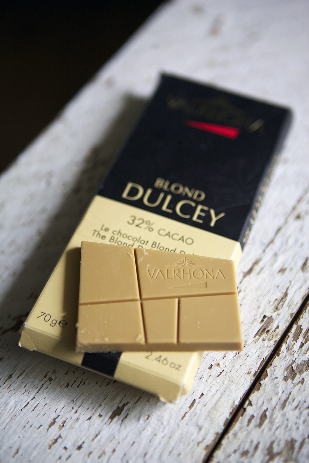Valrhona Dulcey blond chocolate  // Glazed & Confused