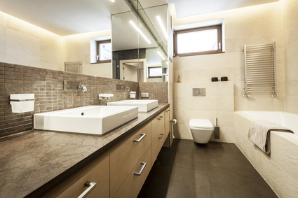 Luxury modern bathroom