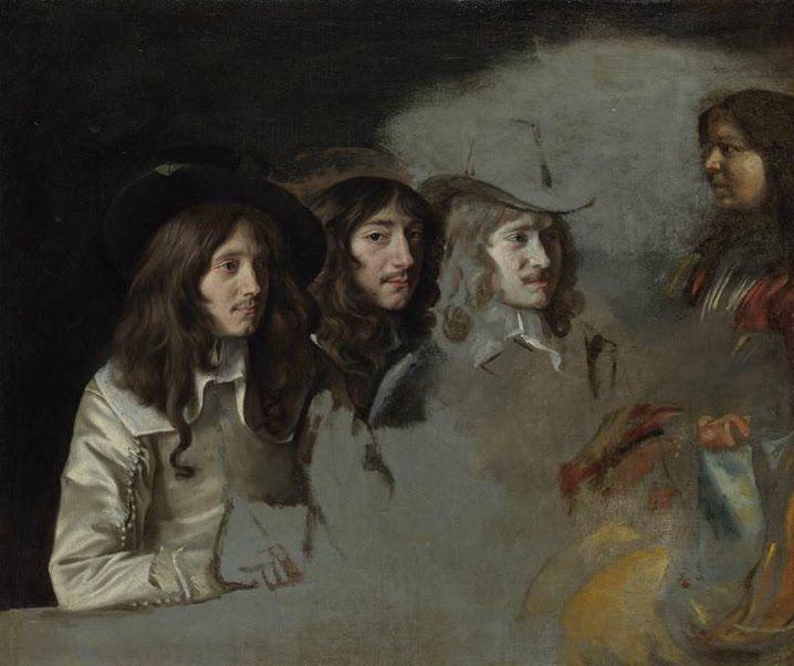 Frères Le Nain, Autoportrait collectif présumé, National Gallery, Londres