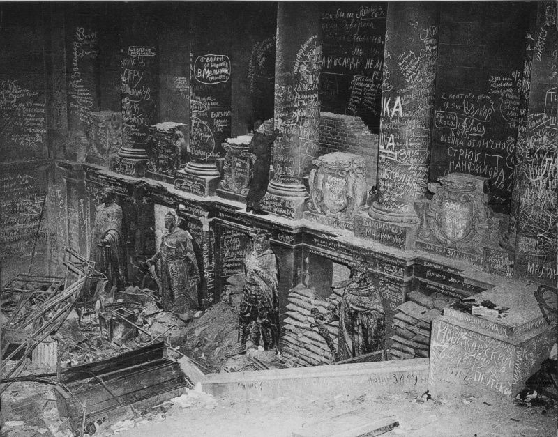 Yevgeny Chaldej, Reichstag, mai 1945,  source