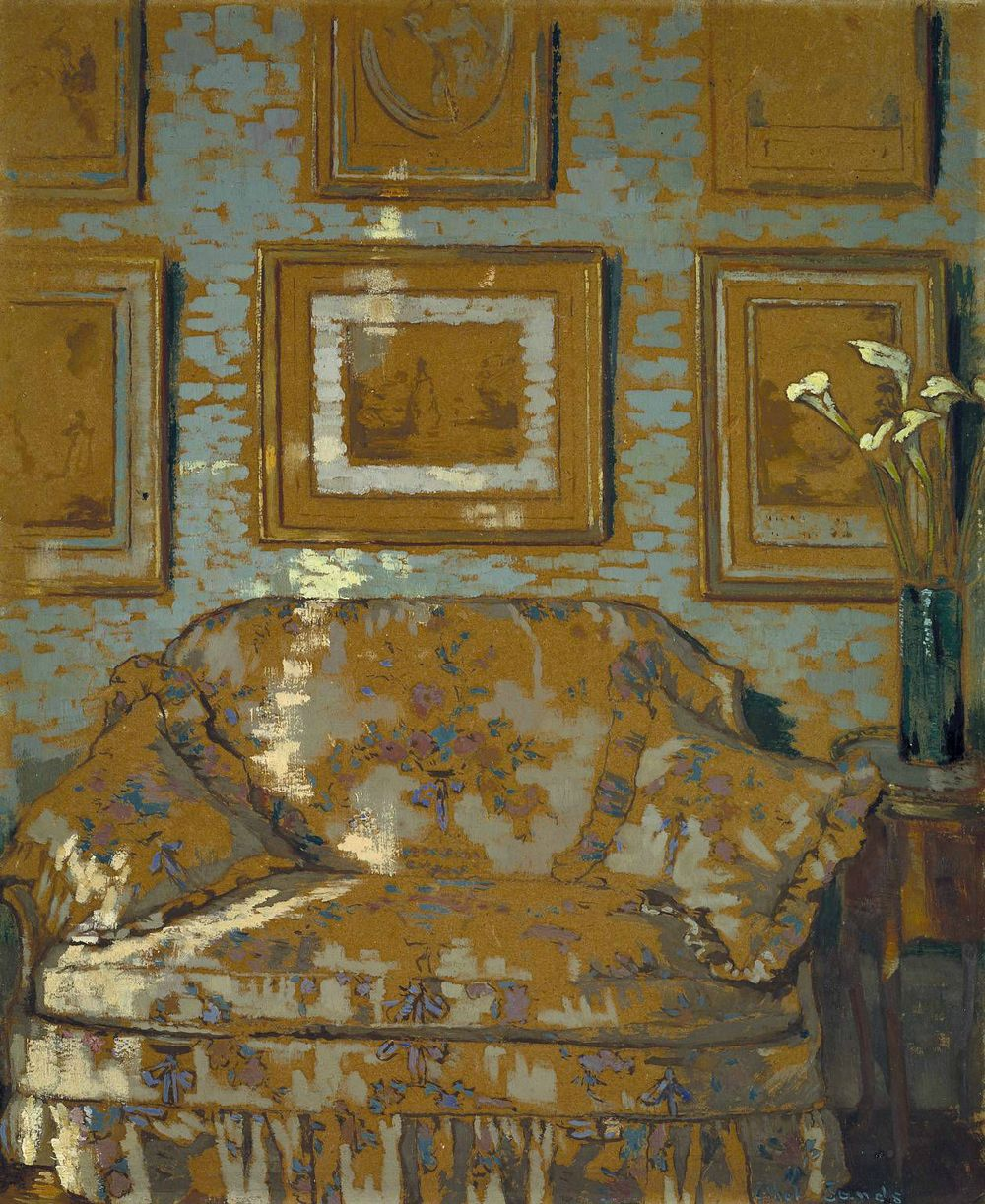 The Chintz Couch , Ethel Sands, Tate Modern