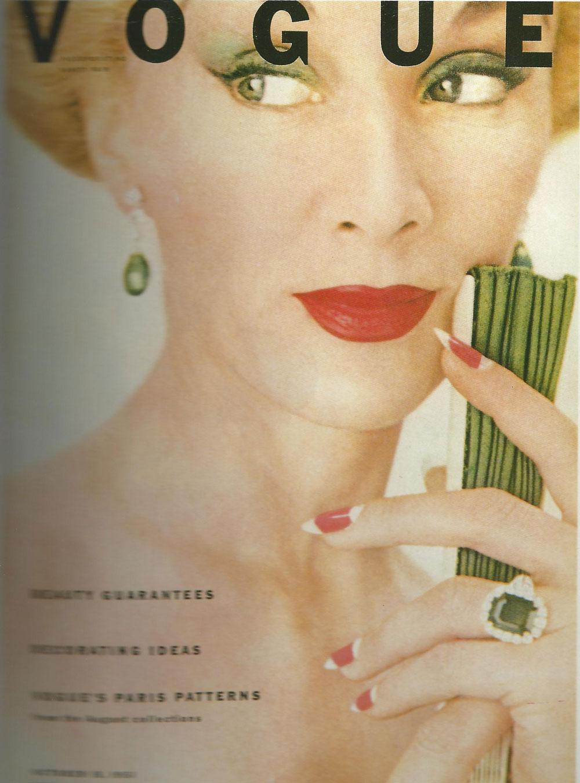 Vogue. October 1951. Clifflord Coffin,  Lisa Fonssagrives