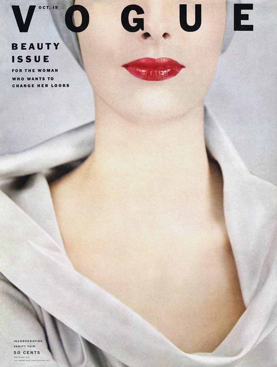 Erwin Blumenfeld. Vogue, octobre 1952