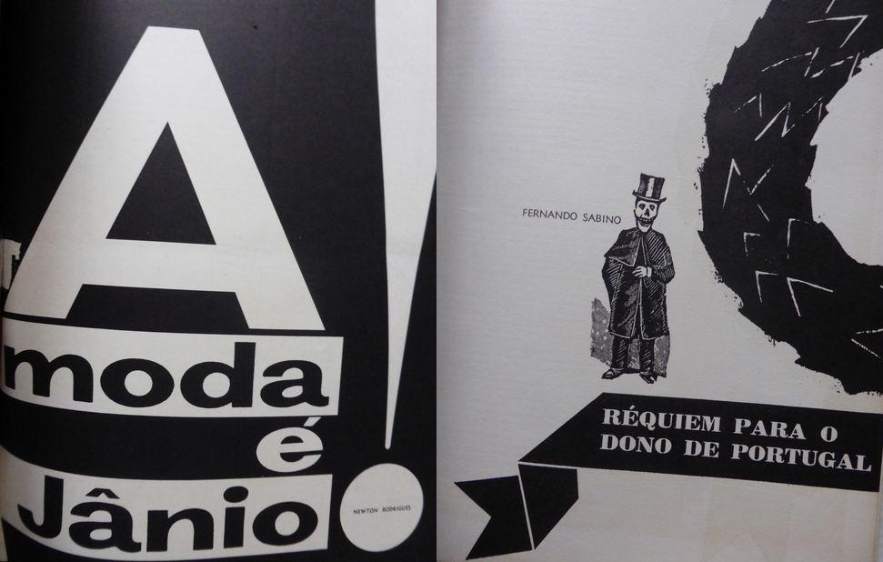 Pages des numéros de janvier et juillet 1960