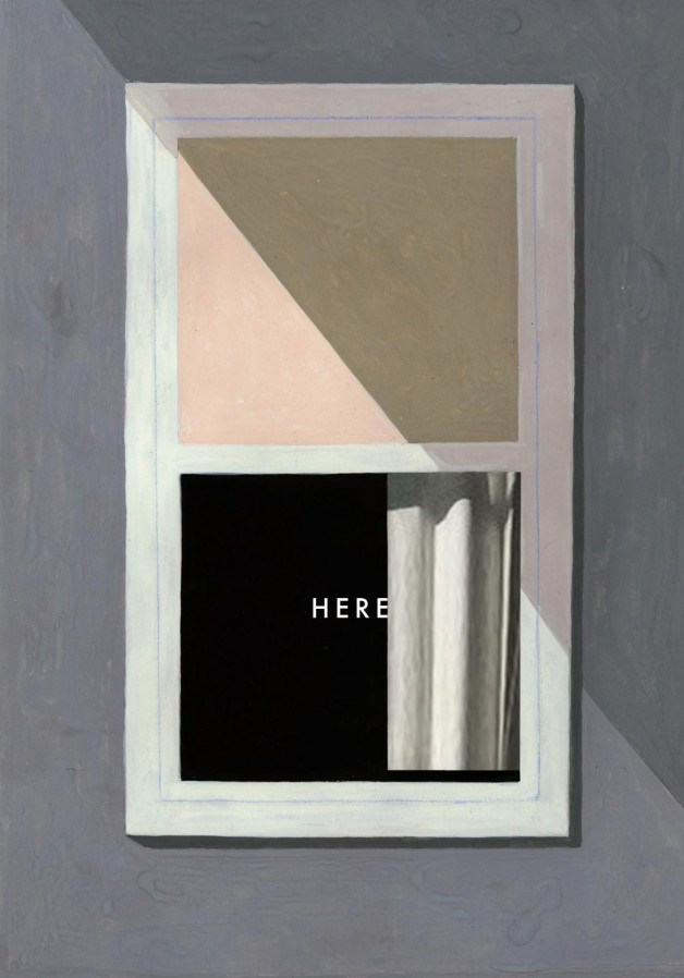 Richard McGuire, couverture de  Here , Random House,
