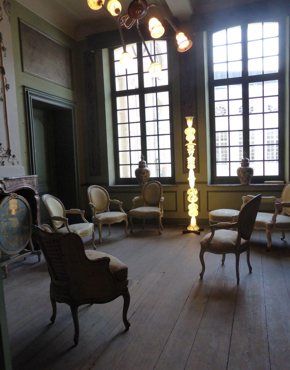Lampes de  Patrick Reuvis , Design Museum, Gand