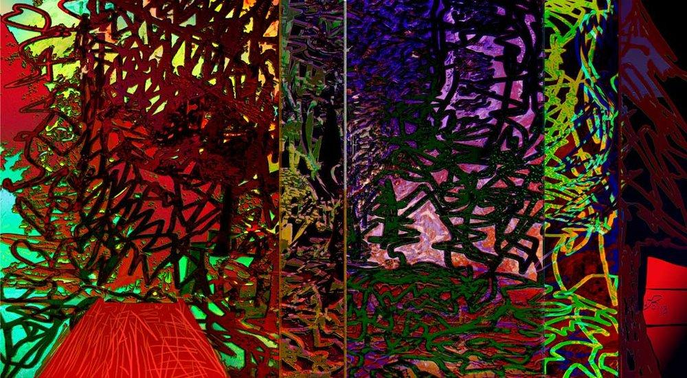 yolanda del riegous digital works clorofila digital madrid spain march