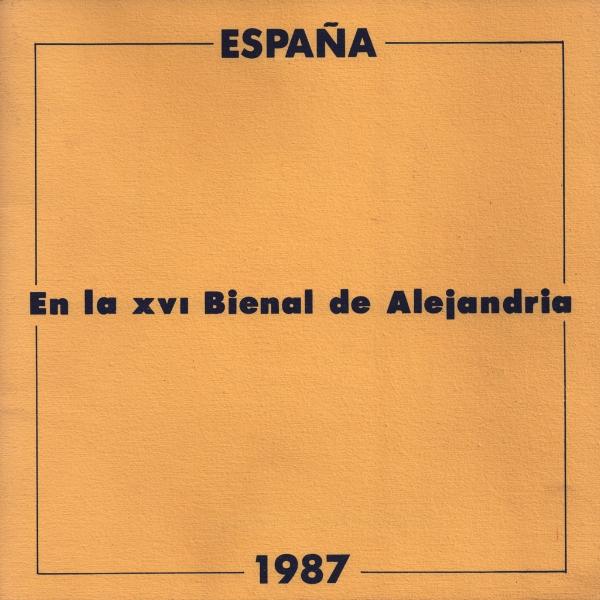 Cubierta del catálogo del pabellón de España